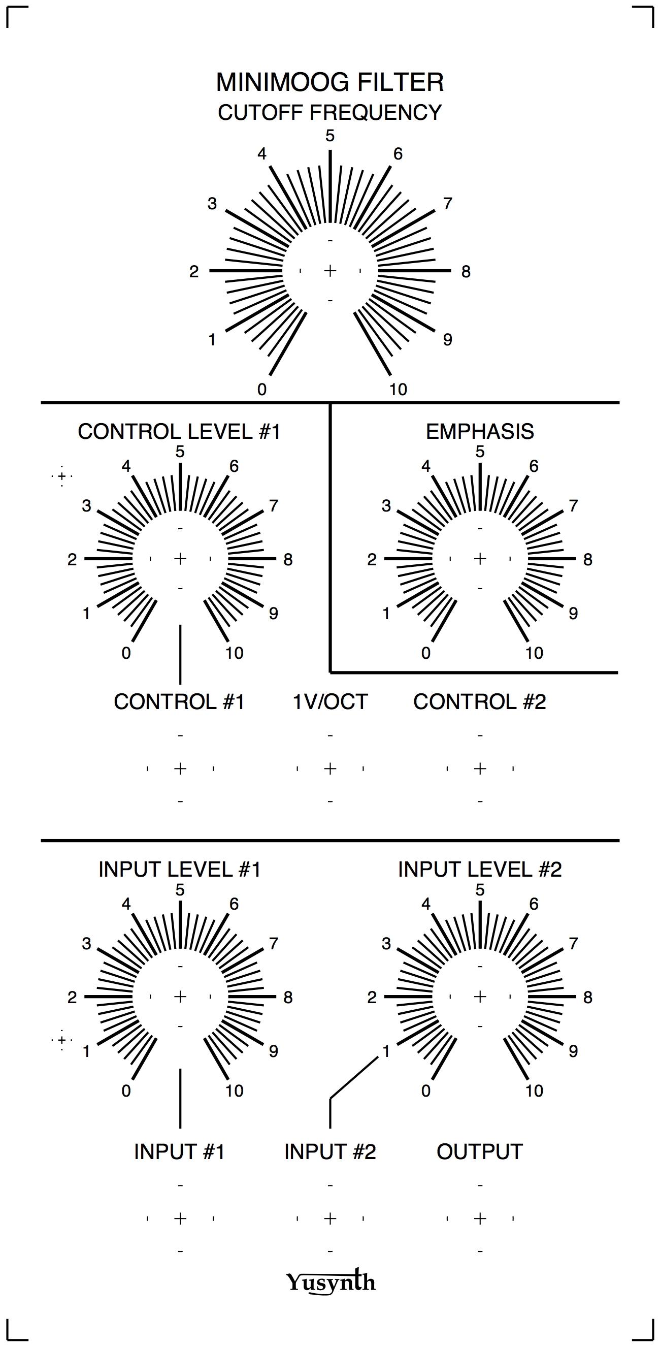 Minimoog Vcf Clone C14 Wiring Diagram Component Layout