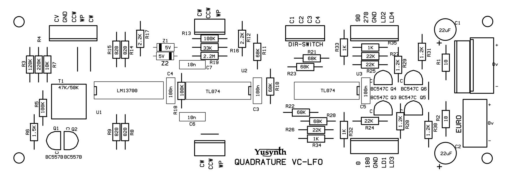 quadrature vclfo
